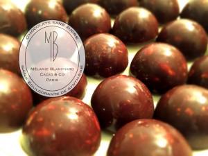 Logo & fond chocolats